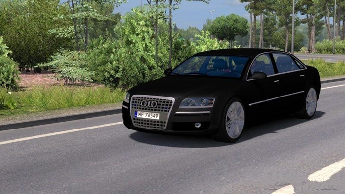 Photo of Euro Truck 2 – Audi A8 Araba Yaması [1.30]