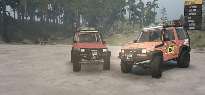 Photo of SpinTires MudRunner – Daihatsu Feroza