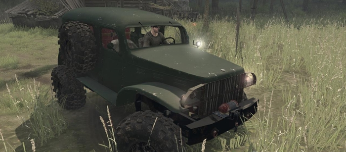 Photo of SpinTires MudRunner – Dodge WC53 Carryall 4×4 1943 Model