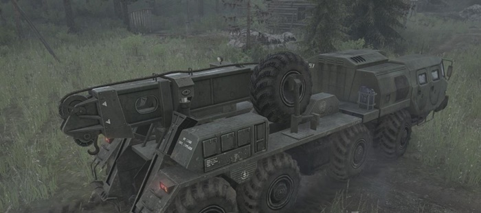 Photo of SpinTires MudRunner – E-7310 Utility Attachment Kamyon Modu