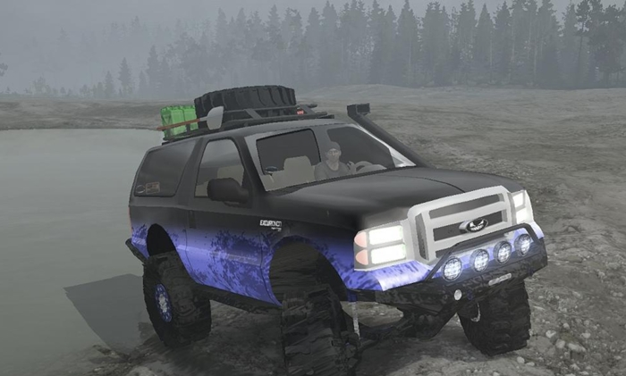 Photo of SpinTires MudRunner – Ford Excursion