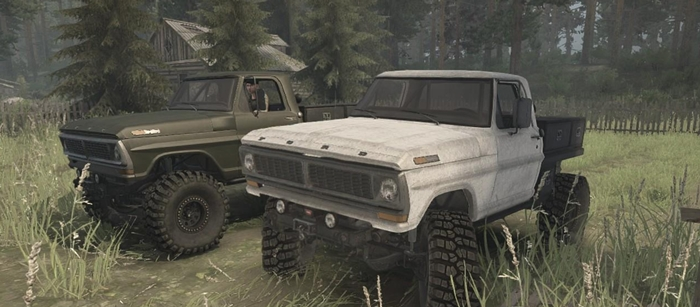 Photo of SpinTires MudRunner – Ford F350 1970 Model