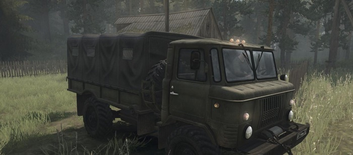 Photo of SpinTires MudRunner – Gas-66 Kamyon Modu