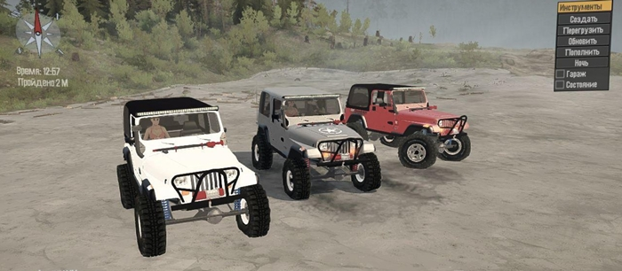 Photo of SpinTires MudRunner – Jeep Yj Reborn v1