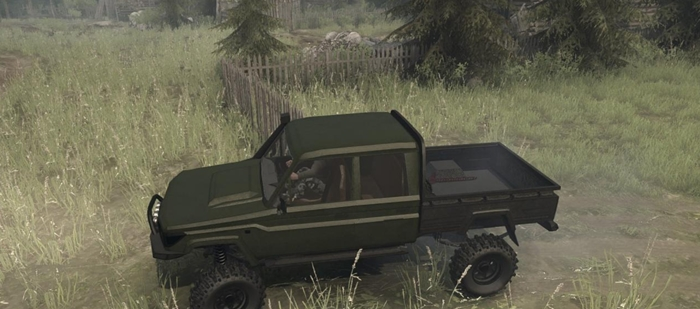 Photo of SpinTires MudRunner – Toyota Land Cruiser Pikap Yaması