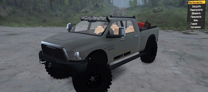 Photo of SpinTires MudRunner – Ford 3500 Ram 2013 Model