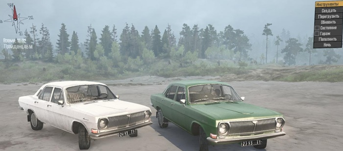 "Photo of SpinTires MudRunner – Gas-2410 ""Volga"" v1.0"