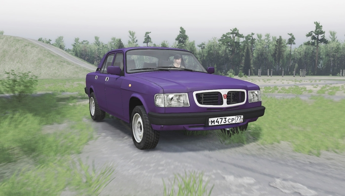 Photo of SpinTires 2014 – Gaz 3110 Volga Araba Modu