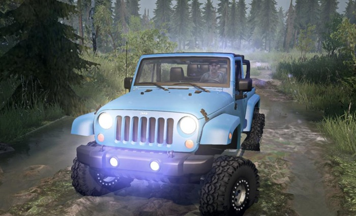 Photo of SpinTires MudRunner – Jeep Wrangler 6×6 Turbo