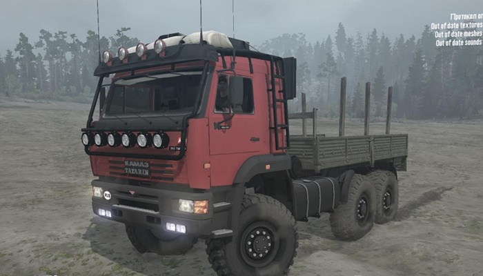 "Photo of SpinTires MudRunner – Kamaz ""Tatar"" v02.01.18"