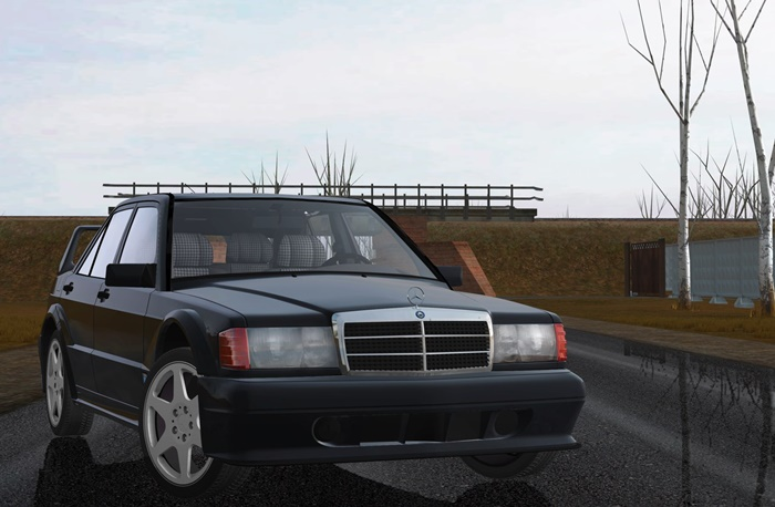 Photo of City Car DRiving 1.5.5 – Mercedes-Benz 190E 2.5-16 Evolution II (W201) 1990 Model Araba Yaması