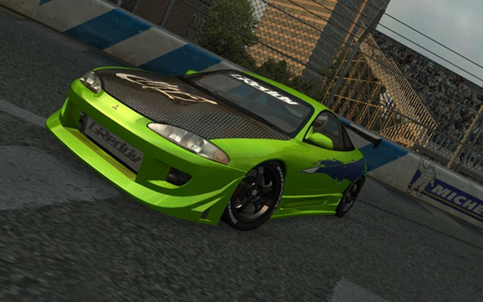 Photo of LFS – Mitsubishi Eclipse GSX 1995 Model Araba Yaması