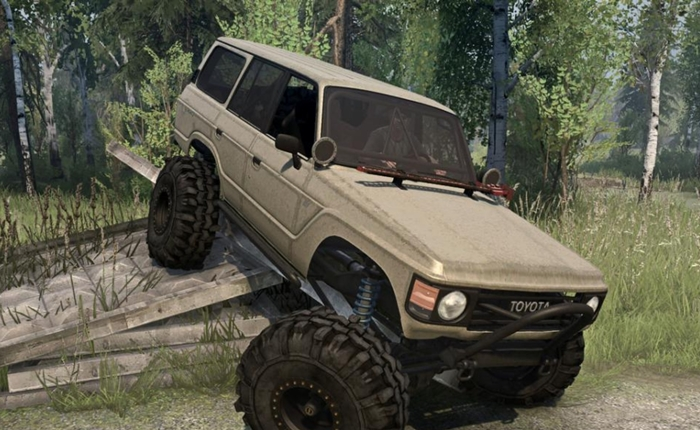 Photo of SpinTires MudRunner – Toyota Land Cruiser J60 1980 Model