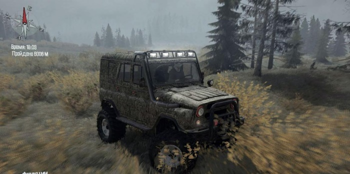 Photo of SpinTires MudRunner – Uaz-469 v1.0 (16.01.18)