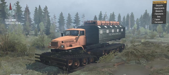 Photo of SpinTires MudRunner – Ural-5920 Kamyon Modu