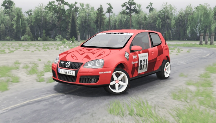 Photo of SpinTires 2014 – Volkswagen Golf V GTI Araba Modu