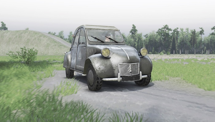 Photo of SpinTires 2014 – Citroen 2CV Araba Modu
