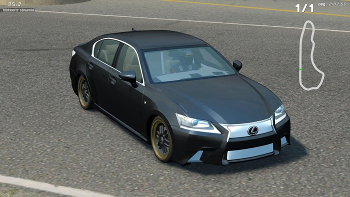 Photo of LFS – Lexus GS350 F Sport 2013 Model Araba Yaması