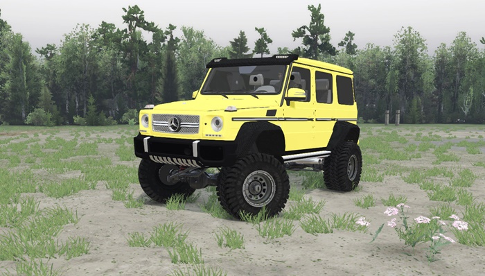 Photo of SpinTires 2014 – Mercedes-Benz G65 AMG