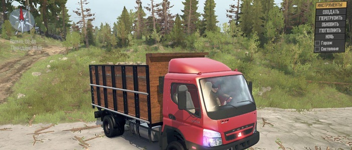 Photo of SpinTires MudRunner – Mitsubishi Fuso Canter v2