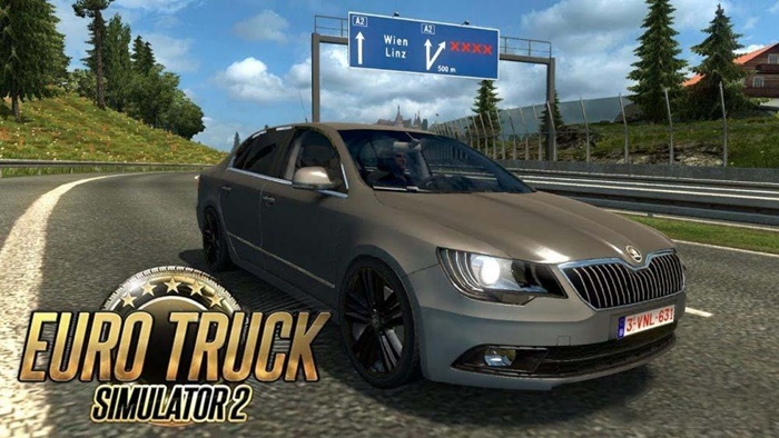 Photo of ETS2 – Skoda Superb 4×4