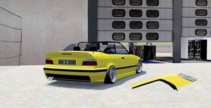 Photo of LFS – BMW E36 Cabriolet Araba Yaması