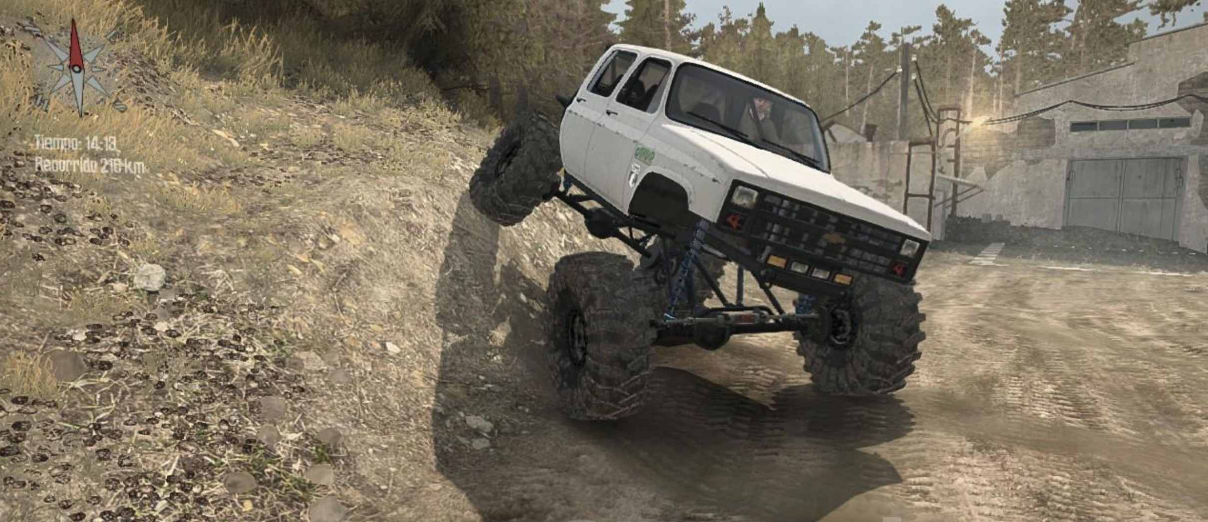 Photo of SpinTires MudRunner – Chevrolet K30 Cummins v3