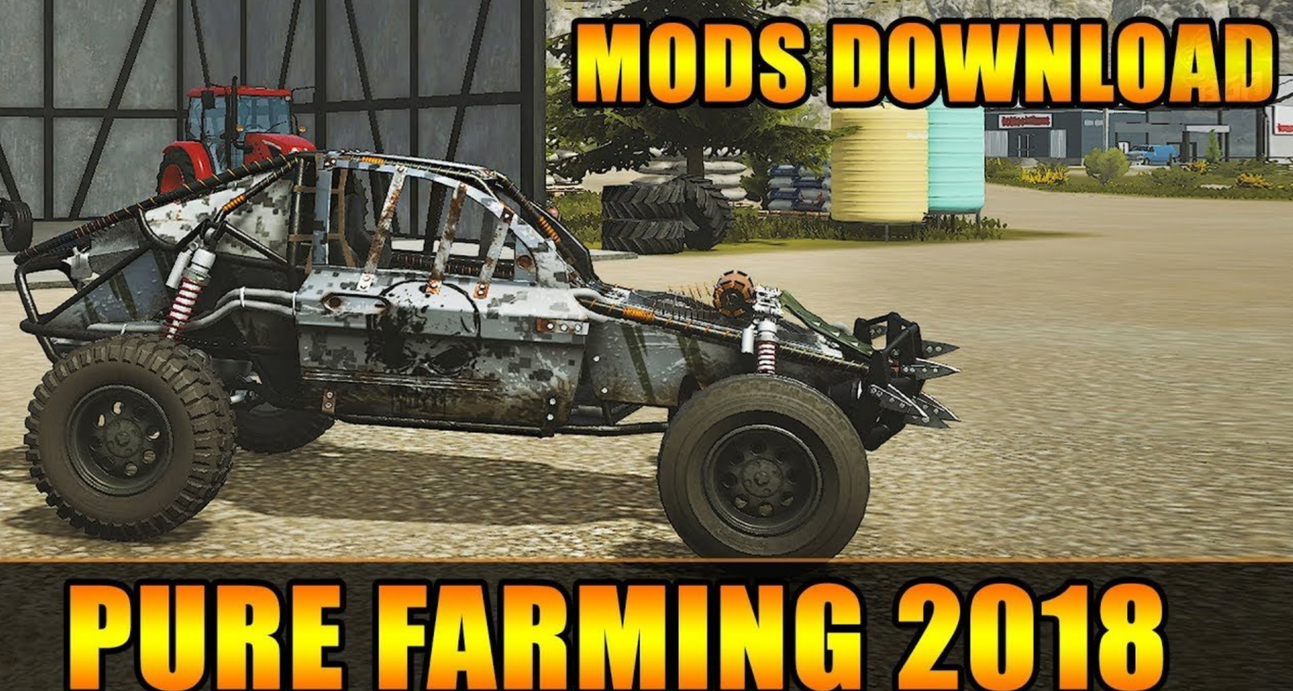 Photo of Pure Farming 2018 – Dying Light Buggy Skinleri v1.0