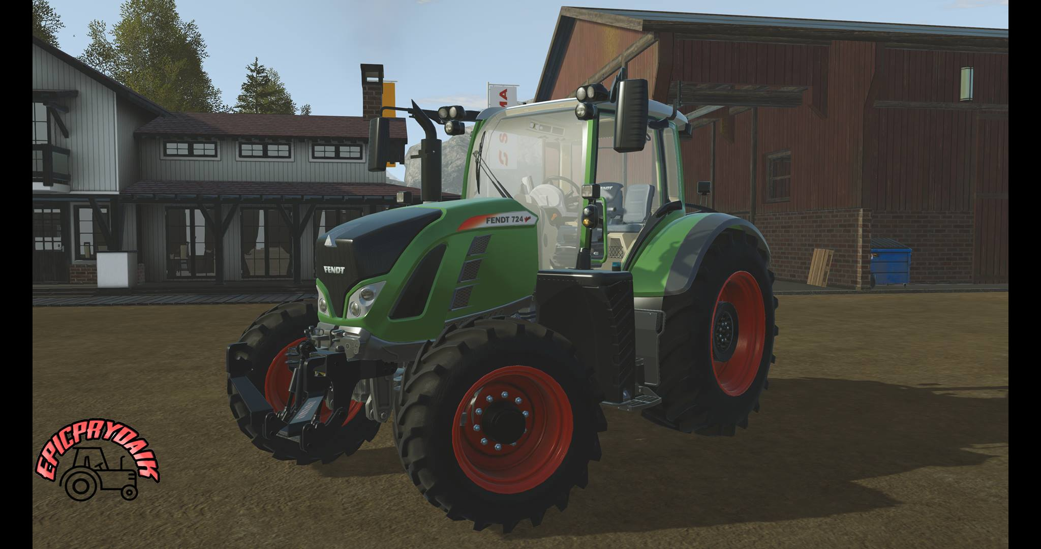 Photo of Pure Farming 2018 – Fendt 724 Traktör