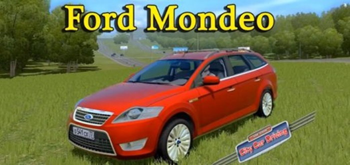 Photo of City Car Driving 1.5.1 – 1.5.5 – Ford Mondeo Araba Yaması
