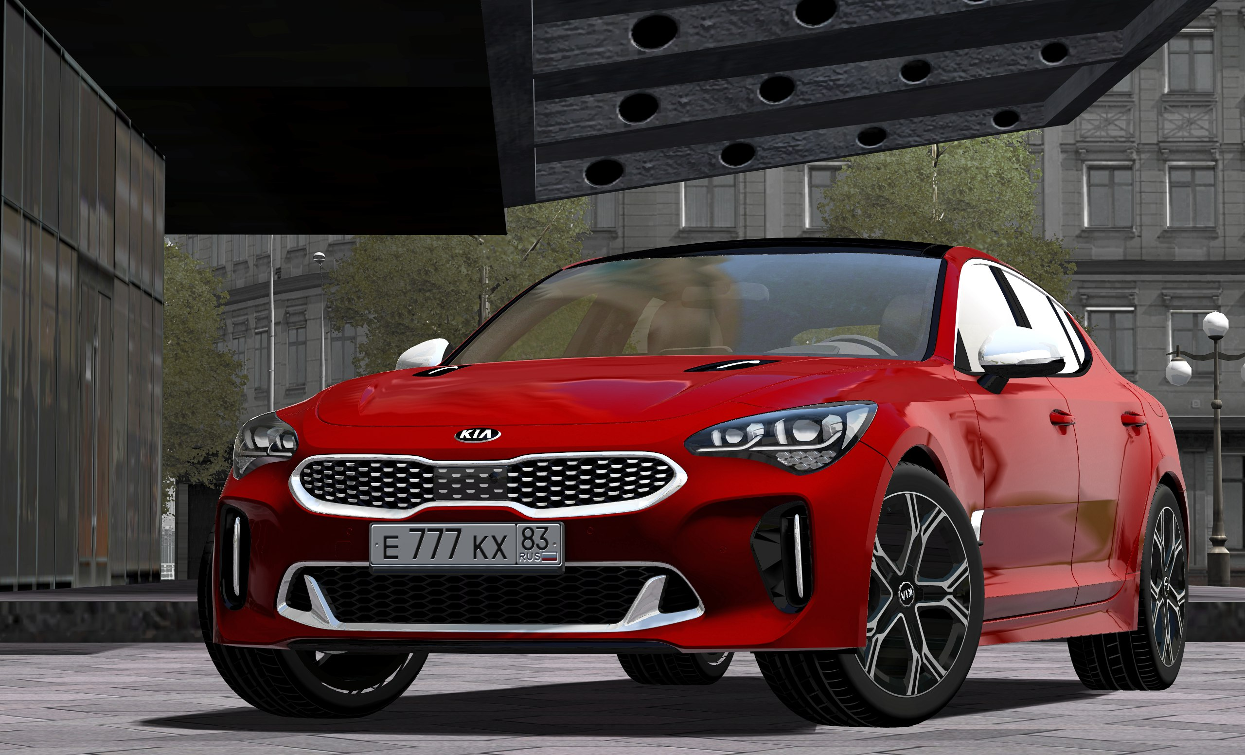 Photo of City Car Driving 1.5.5 – Kia Stinger GT 2018 Model Araba Yaması