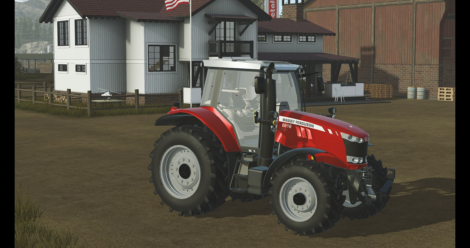 Photo of Pure Farming 2018 – Massey Ferguson 6616 Traktör