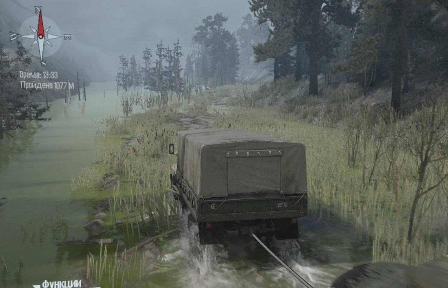 Photo of SpinTires MudRunner – Teamwork Haritası V0.1