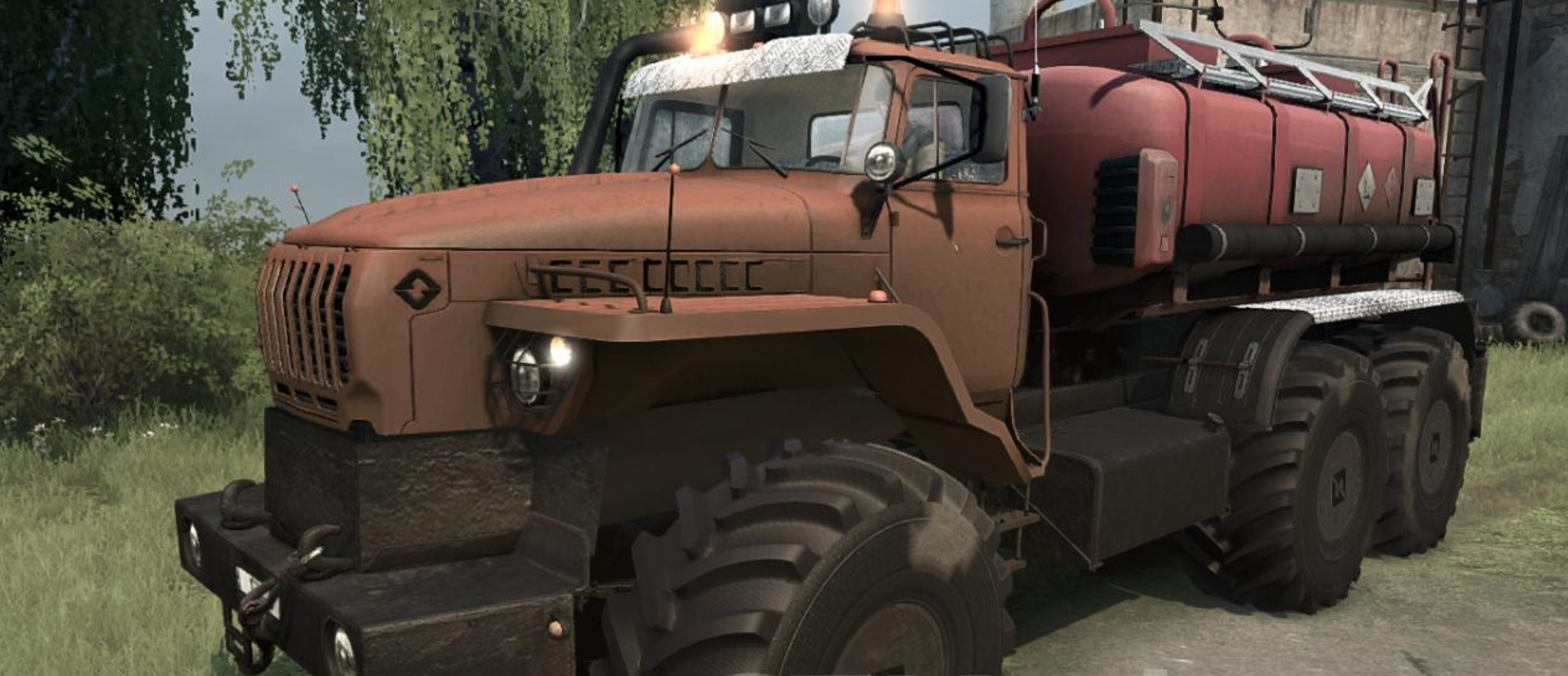 "Photo of SpinTires MudRunner – Ural ""Polarnik"""