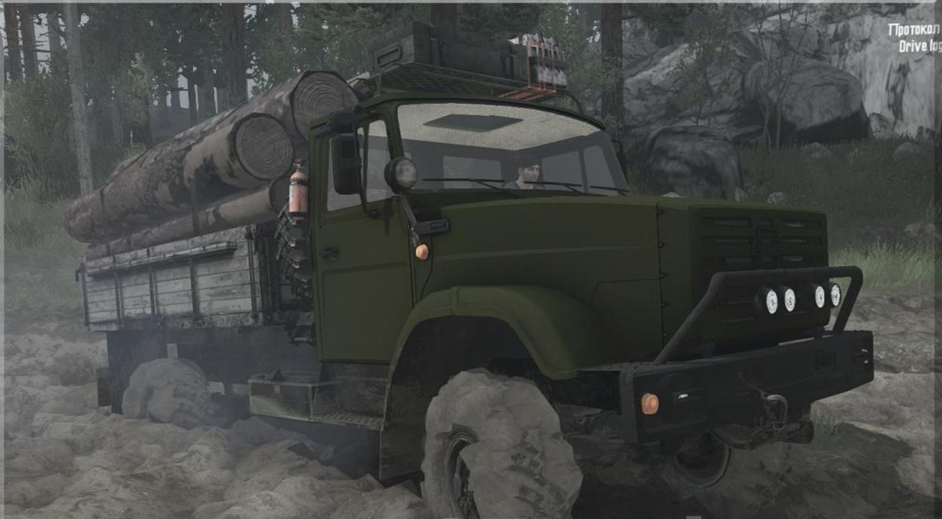 Photo of SpinTires MudRunner – Zil-4327 Kamyon Modu v23.03.18