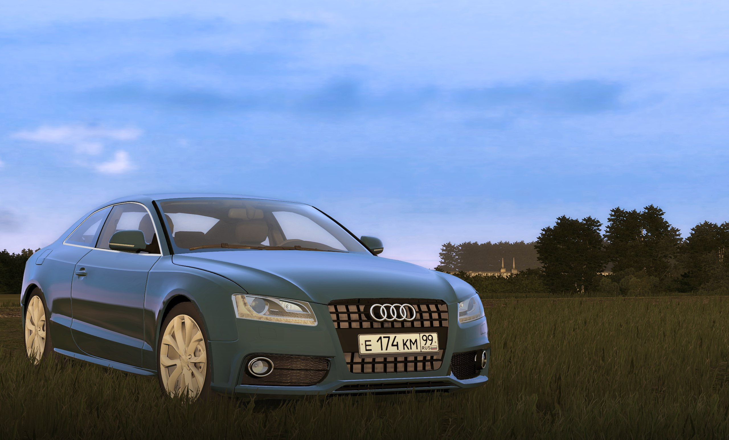 Photo of City Car Driving 1.5.5 – Audi A5 Araba Yaması
