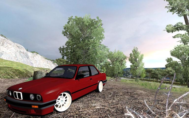 Photo of ETS2 – BMW 325i 1991 Model E30 Yaması