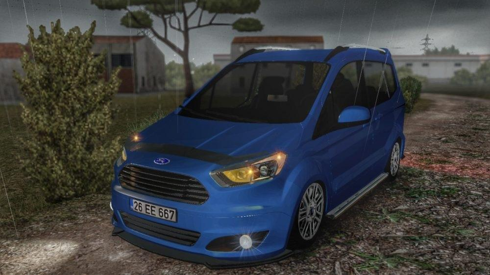 Photo of ETS2 – Ford Tourneo Courier Araba Modu