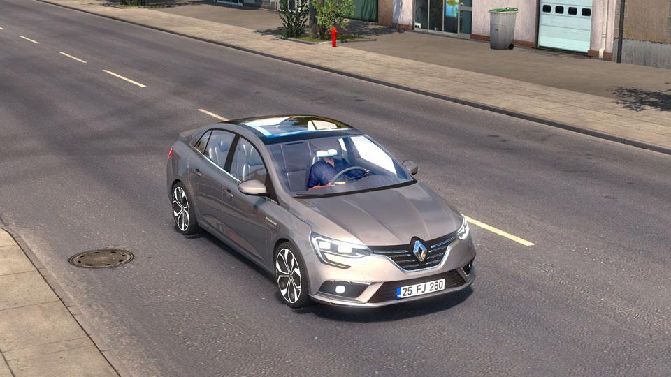 Photo of ETS2 – Renault Megane Araba Yaması V4