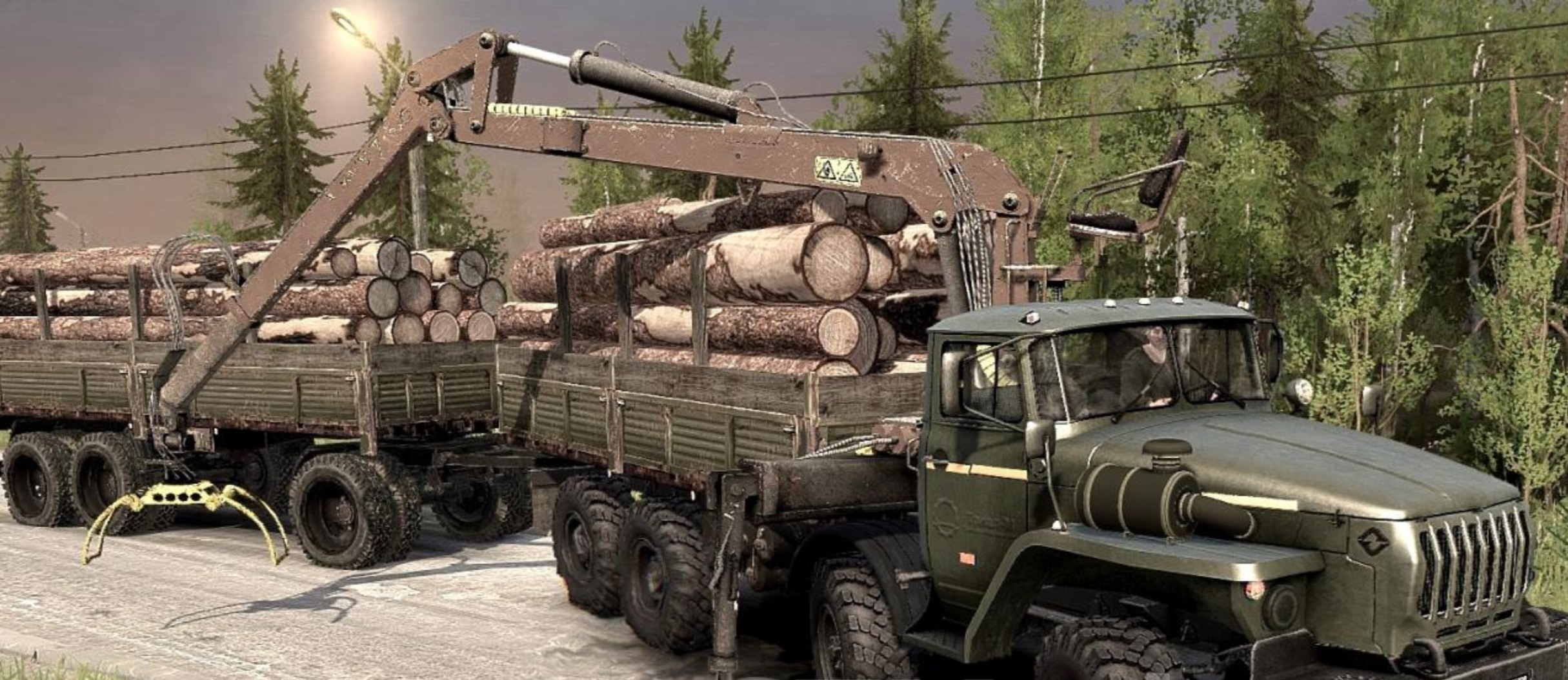 Photo of SpinTires MudRunner – Ural-6614 8×8 Kamyon Modu v3.0
