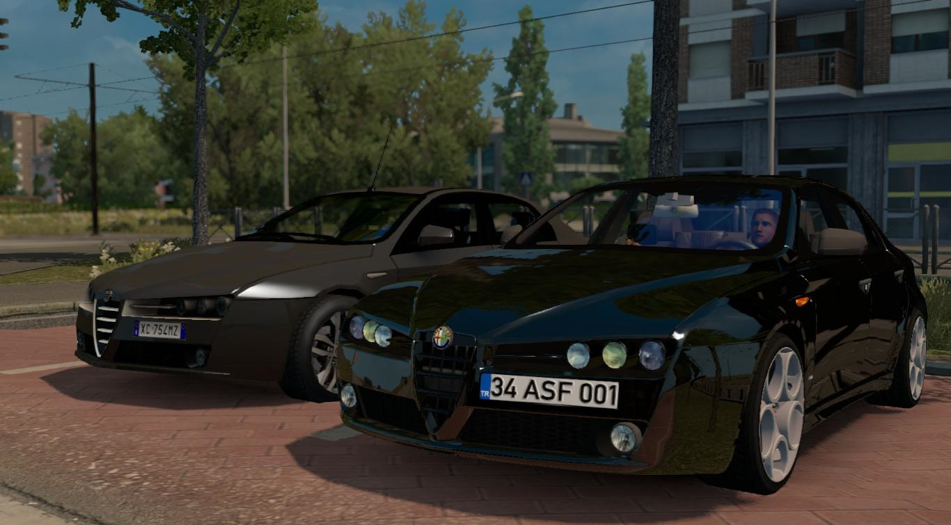 Photo of ETS2 – Alfa Romeo 159 Araba Modu V5