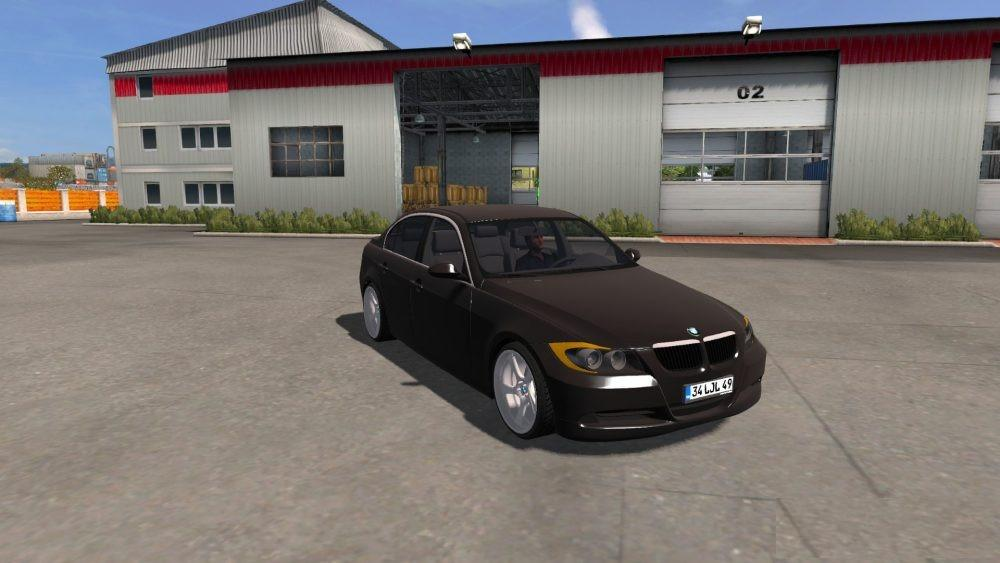 Photo of ETS2 – BMW 3-ER E90 Araba Modu