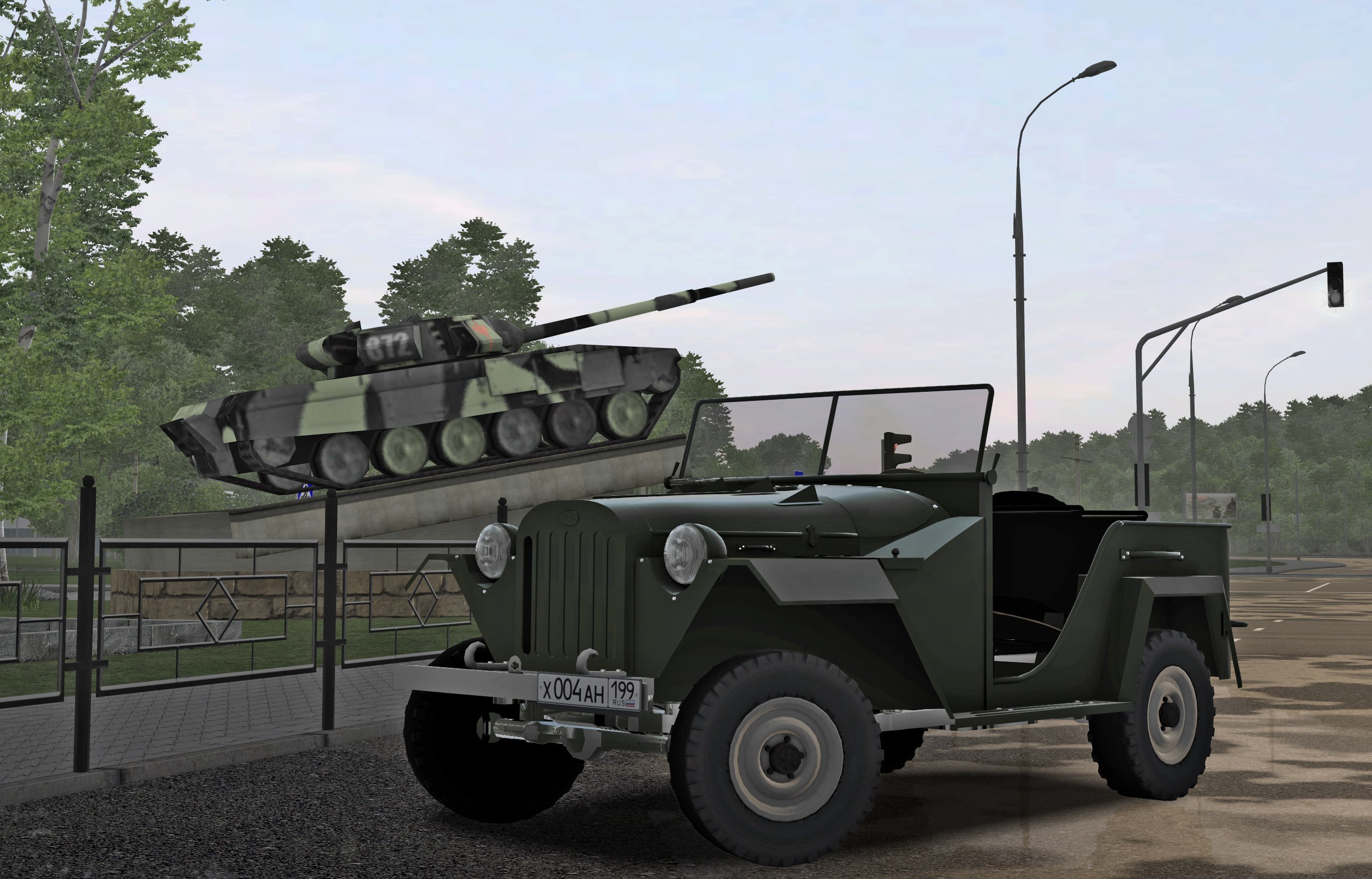 Photo of City Car Driving 1.5.6 – Gaz 67B