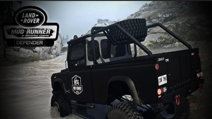 Photo of SpinTires MudRunner – Land Rover Defender v08.05.18