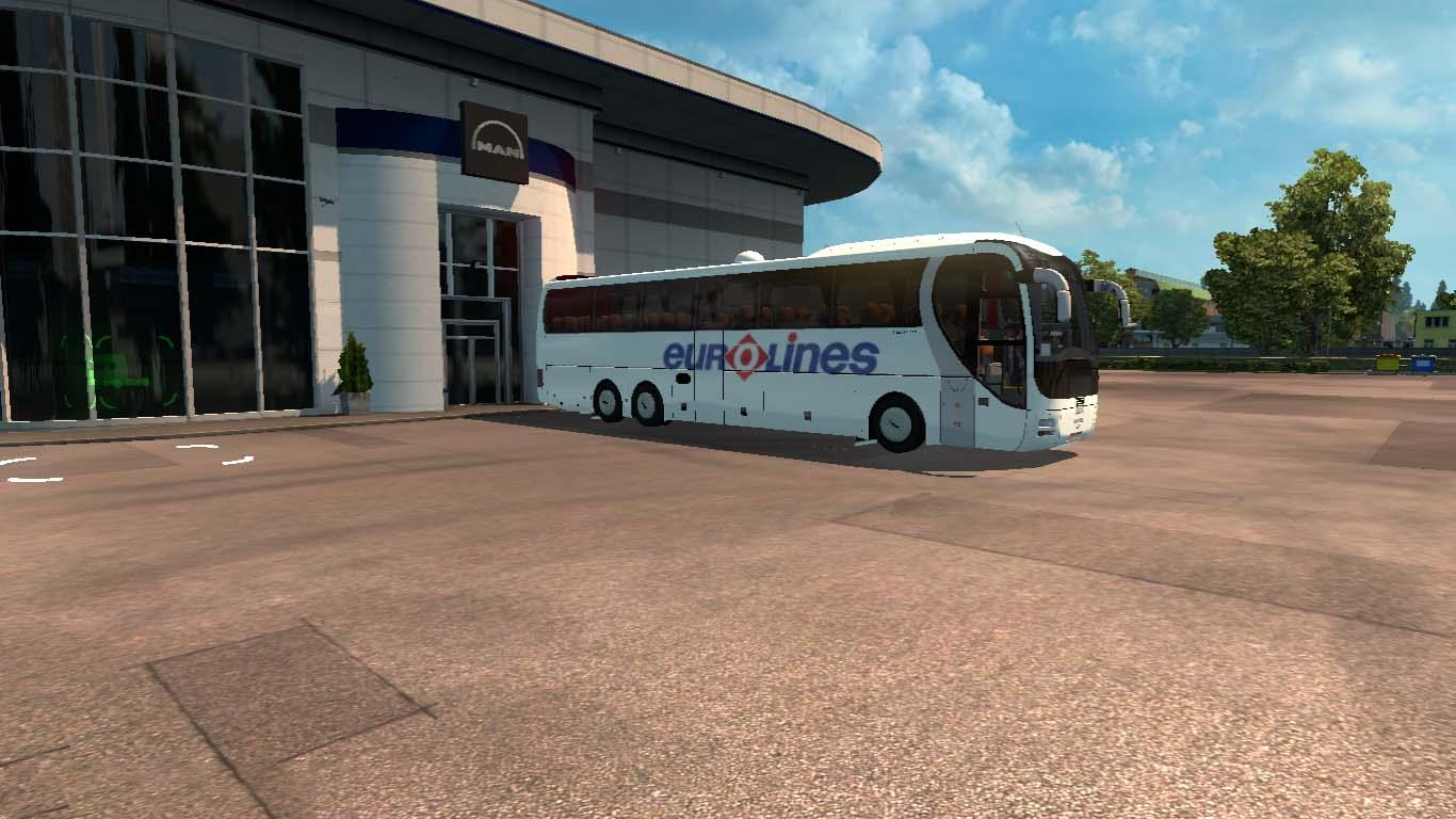 Photo of ETS2 – Man Lion Coach Otobüs Modu