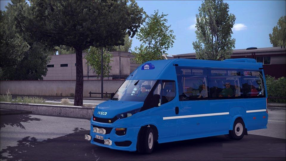 Photo of ETS2 – Iveco Daily Minibüs Modu V1.1