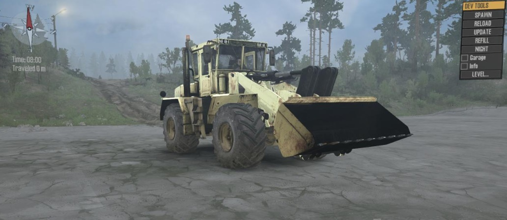 Photo of SpinTires MudRunner – K-702 Kirovets v3