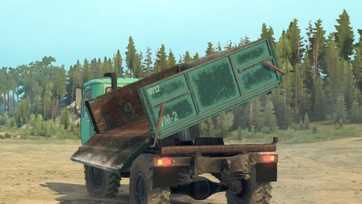 "Photo of SpinTires MudRunner – KAZ-4540 ""Colchis"" Kamyon v0.1"