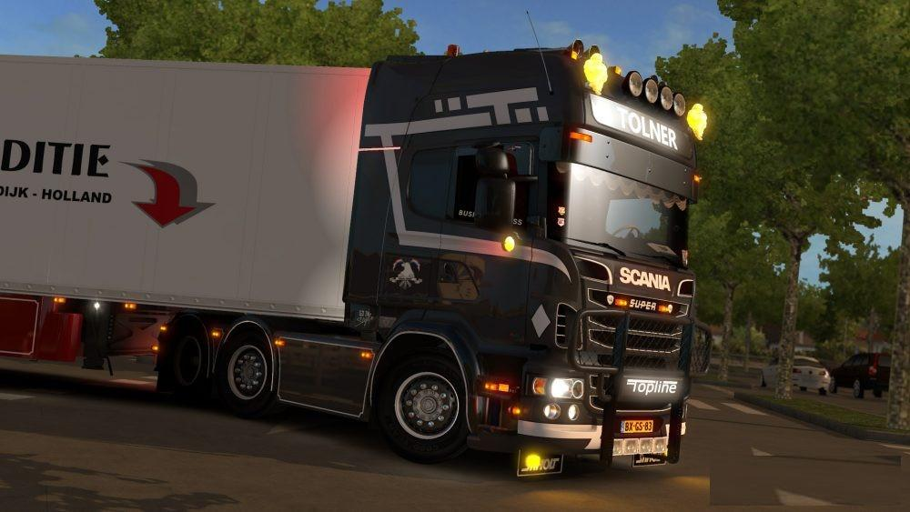Photo of ETS2 – Scania R560 (Tolner)