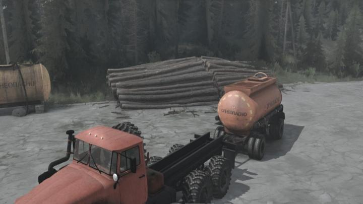 Photo of SpinTires MudRunner – Ural-4320-41 SVE truck v02.06.18